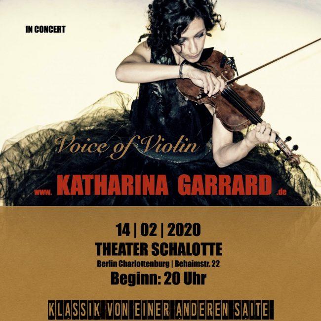Konzert-Theater Schalotte Berlin Geigerin Crossovershow