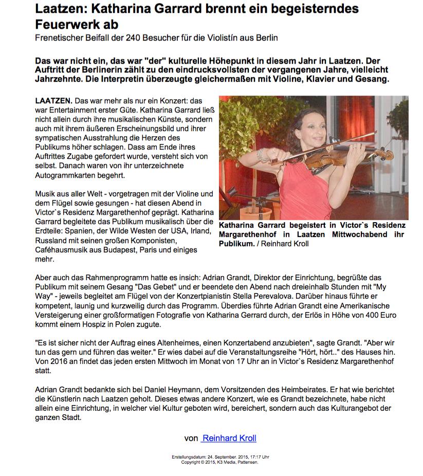 Bericht aus dem LeineBlitz
