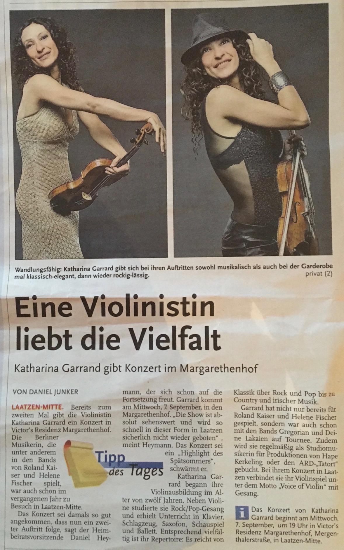 Konzert Hannover Laatzen