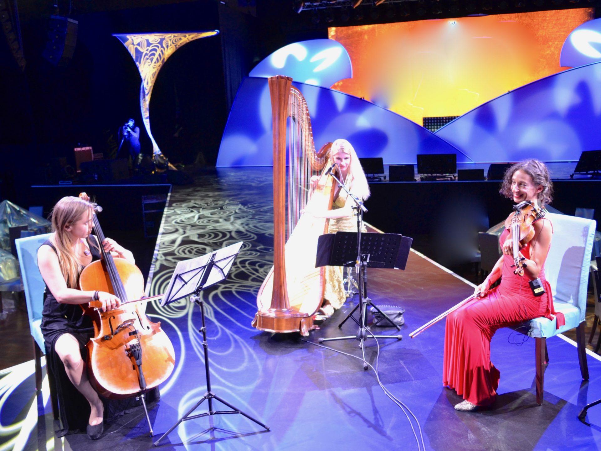 Violine, Cello, Harfe
